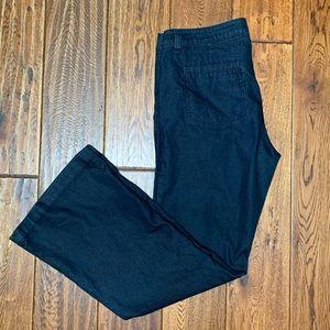 Cabi Farrah Flare Jeans Dark Wash Size 12